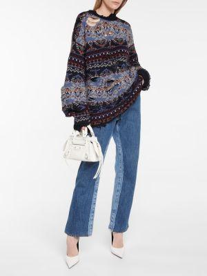 Sweter wełniany Balenciaga