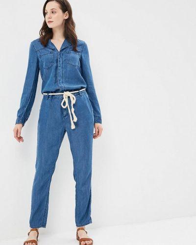 Синий джинсовый комбинезон S.oliver
