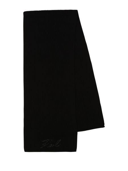 Повседневный акриловый шарф Karl Lagerfeld