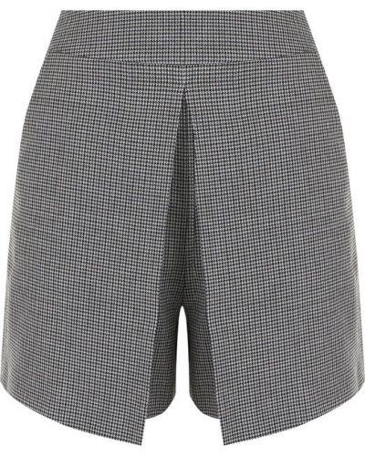 Короткие шорты в клетку с карманами Alexander Wang