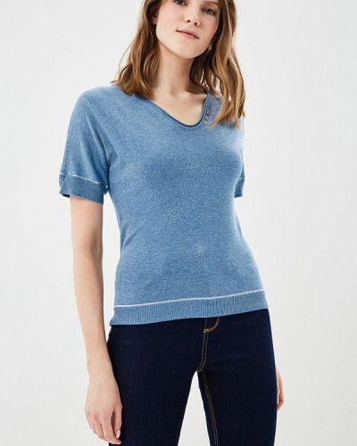 Синий пуловер Naf Naf