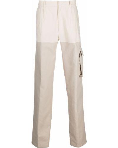 Beżowe spodnie bawełniane Botter