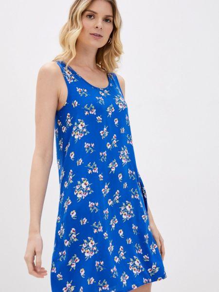 Платье платье-майка синее Defacto