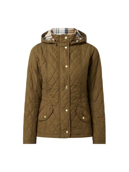Zielona kurtka pikowana Barbour