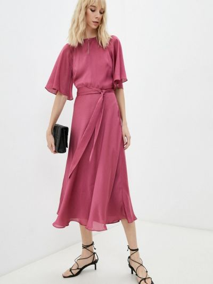 Розовое платье осеннее Ted Baker London
