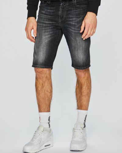 Короткие шорты хлопковые на пуговицах Diesel