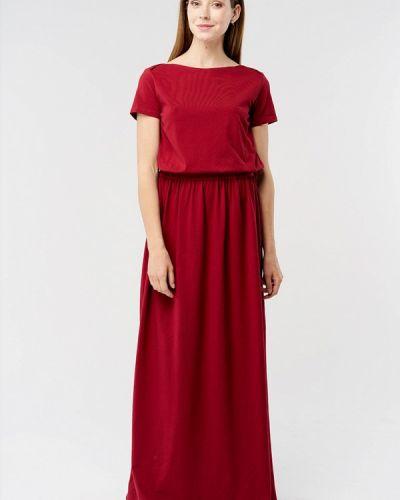 Повседневное платье весеннее красный Mascot