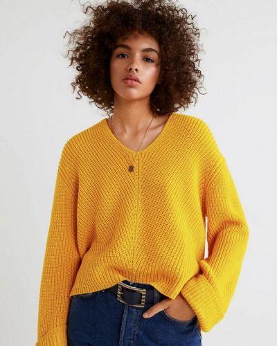 Желтый джемпер Mango