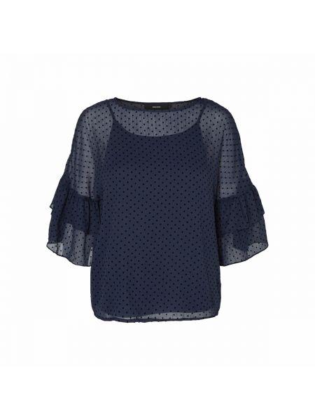 Блузка с длинным рукавом с вырезом длинная Vero Moda