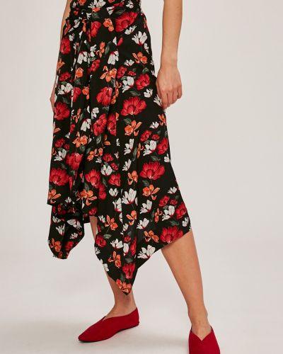 Черная юбка с завышенной талией Answear