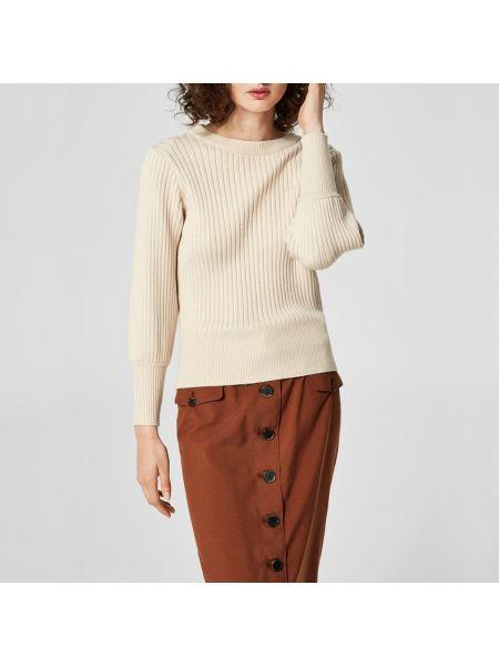 Пуловер из вискозы тонкий Selected Femme