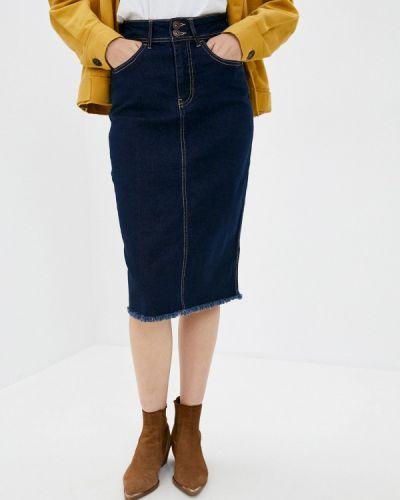 Клубная синяя джинсовая юбка Concept Club