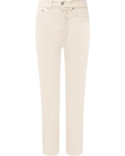 Укороченные джинсы бежевый Golden Goose Deluxe Brand