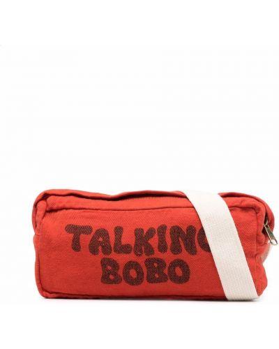 Czarna torebka z printem Bobo Choses
