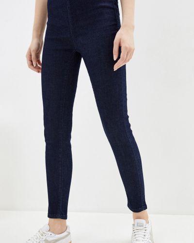 Джинсовые зауженные джинсы - синие Baon