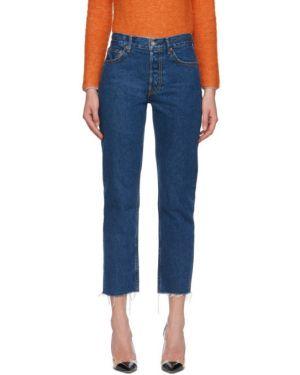 Прямые джинсы стрейч mom Grlfrnd