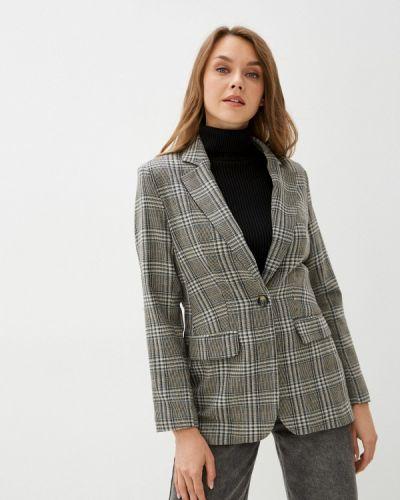 Серый пиджак осенний Self Made