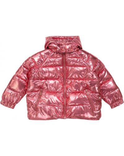 Дутая куртка - розовая Stella Mccartney Kids