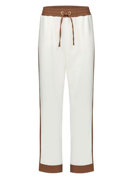 Белые брюки Alessandro Dell'acqua