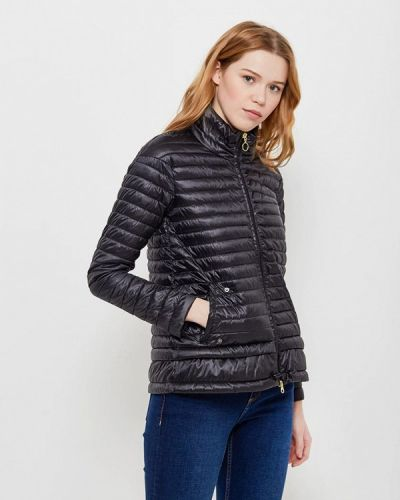 Утепленная куртка весенняя черная Bomboogie
