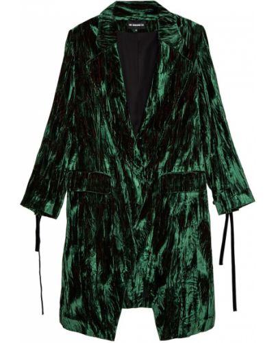 Пальто бархатное с воротником Ann Demeulemeester