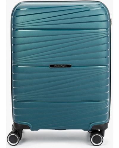 Бирюзовый чемодан Polar