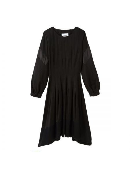 Платье миди со складками на резинке Koche X La Redoute