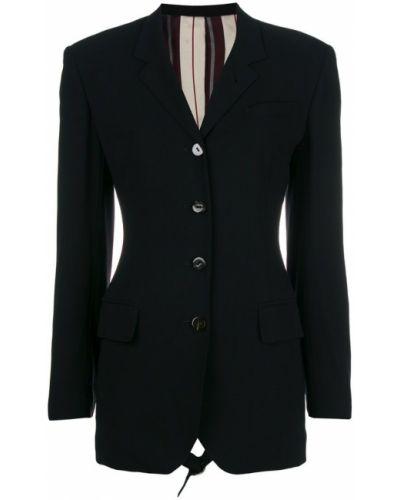 Шерстяной пиджак - черный Jean Paul Gaultier Pre-owned