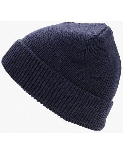Синяя шапка осенняя Puma
