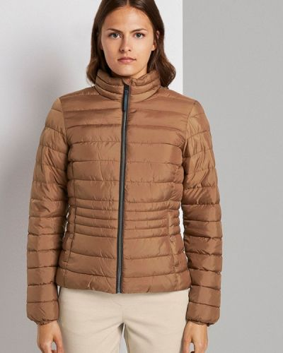 Теплая коричневая куртка Tom Tailor