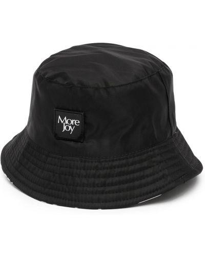 Czarna bucket hat More Joy