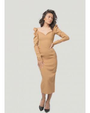 Вечернее платье - бежевое Lipinskaya Brand