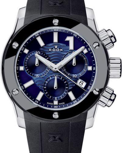 Кварцевые часы водонепроницаемые с подсветкой Edox