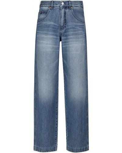 Прямые джинсы классические - синие Victoria Beckham