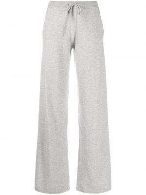 Свободные кашемировые серые свободные брюки свободного кроя Chinti & Parker