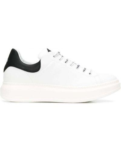 Кожаные кроссовки - белые Gaelle Bonheur