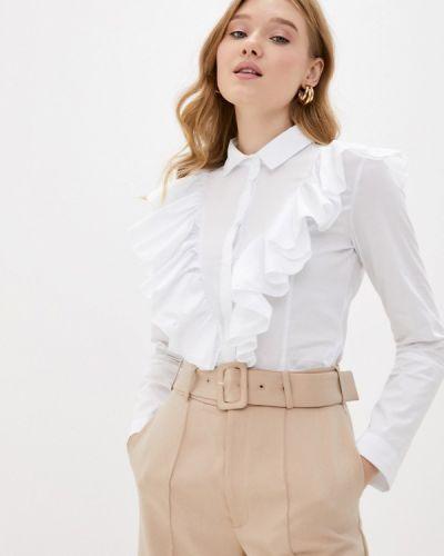 Белая блузка с оборками Imperial