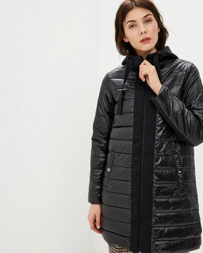 Утепленная куртка демисезонная черная Neohit
