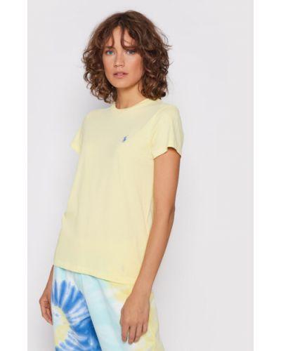 Żółta t-shirt Polo Ralph Lauren
