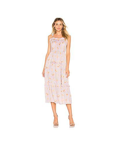 Платье платье-майка шелковое Rebecca Taylor