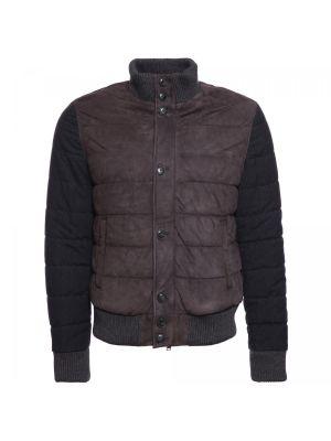Серая текстильная куртка Principe Di Bologna
