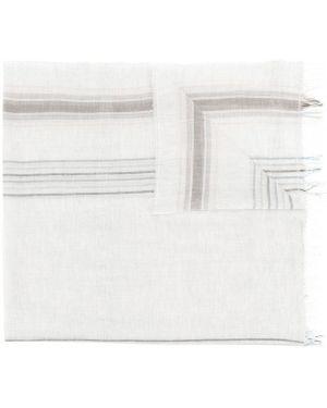 Хлопковый шарф - серый Le Tricot Perugia