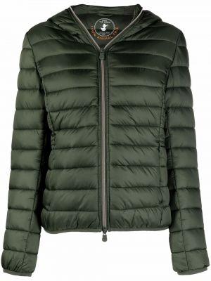 Зеленая куртка классическая Save The Duck
