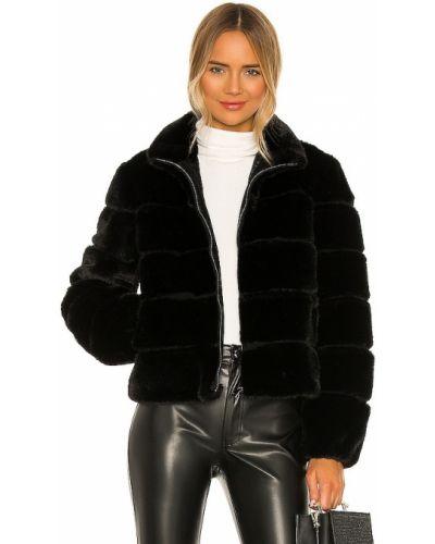 Черная куртка из искусственного меха на молнии Generation Love