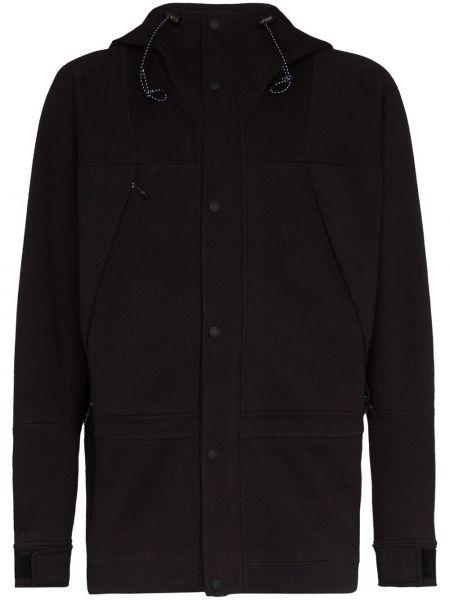 Czarna kurtka z kapturem bawełniana The North Face Black Series