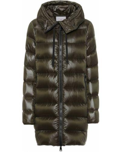 Зимнее пальто стеганое био пух Moncler