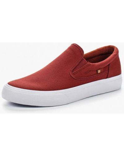 Эспадрильи красный Dc Shoes