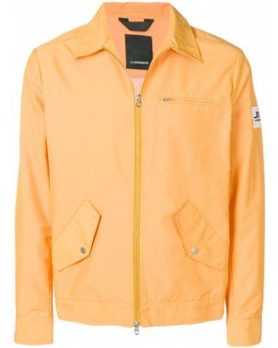 Длинная куртка - оранжевая J.lindeberg