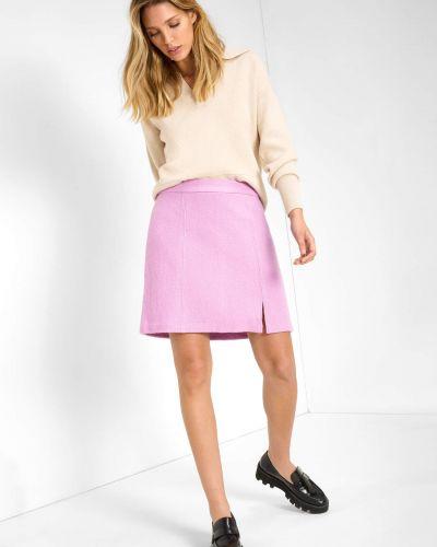 Spódniczka mini - fioletowa Orsay