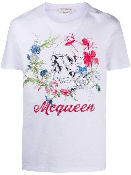 Koszula krótkie z krótkim rękawem z kieszeniami prosto Alexander Mcqueen